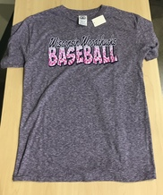 Youth Heather Grey Purple Safari T-Shirt